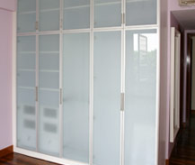 Sungei Emas Singapore Aluminium Framed Glass Door And